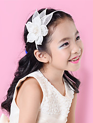 Children Sinamay Rhinestone Flower Headband Girls Fascinator (more colors)SFD2803