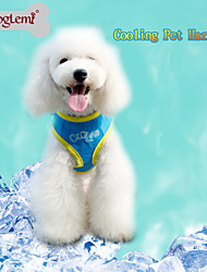 Summer Cooling Pet Harness Ice Padded Dog Vest Harness for Dogs