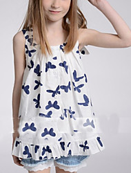 Kid's Cute Top & T-Shirt (Chiffon)