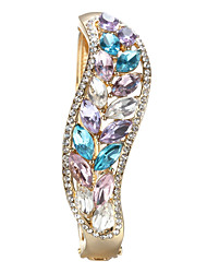 Sjeweler Lady's Crystal Colorful Opal Bracelet Bangle