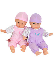 Smart Baby Doll,Can Laugh & Weep& Blink Eyes&Sing & Sleep & Make Wacky Sound(Random Color)