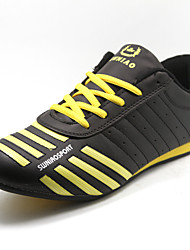 Men's Shoes Athletic Leatherette Athletic Shoes Black/Yellow/White