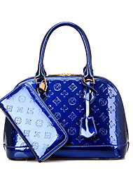 Lucky Unisex Euro Style Newest Fashion PU Tote Bags