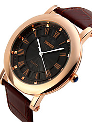 SKMEI® Men's Dress Watch Classic Design Japanese Quartz Leather Strap Cool Watch Unique Watch