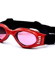 Cat / Dog Sunglasses / Clothes/Clothing Red / Black / White / Blue / Pink / Yellow Spring/Fall Holiday