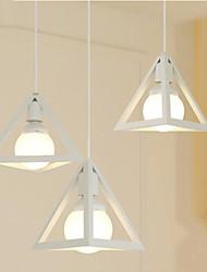 pingente luzes 220v de metal cor norte europa forma simples moderno