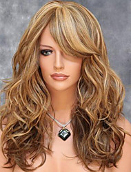 American And European Fashion Shave Pear Volume Wigs Color Mix Color