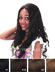 8''-24'' Natural Wave Remy Virgin Indian Human Hair Wigs Silk Top Full Lace Wigs With Baby Hair For Black Women