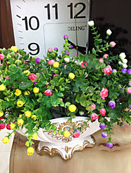 High Quality Artificial Flowers for Home Decoration Bright Color Silk Flower for Wedding and Decorations