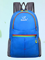 Unisex 's Nylon Backpack - Purple/Blue/Green/Orange/Red/Black