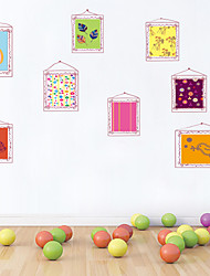 autoadesivi della parete a parete in stile decalcomanie adesivi murali fumetto wallpaper pvc
