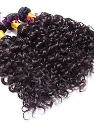 "3 Pcs Lot 12""-30"" Brazilian Deep Curl Wefts Natural Black Remy Human Hair Weave Tangle Free"