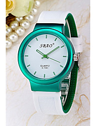 Women's Simple Jelly Silicone Band Quartz Analog Watch Cool Watches Unique Watches