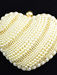 Handbag Crystal/ Rhinestone/Metal/Luxurious Satin Evening Handbags With