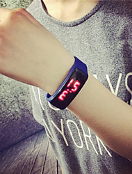 Men And Women LED Silicone Multi-Colored Sport Watches Cool Watch Unique Watch