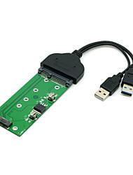 """USB 3.0 SATA 2.5 """"жесткий диск, чтобы M.2 ngff PCI-E 2 полосы SSD для e431 E531 x240 y410p Y510"""