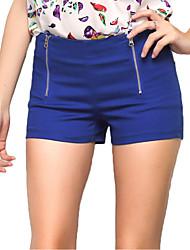 Women's Slim Shorts Pants Plus Sizes XL Board Shorts Hot Pants Candy Color Harem Short Pant