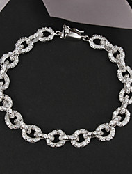 2015 New Design Party Platinum Plated Link/Chain Bracelet Wedding & Engagement Jewelry