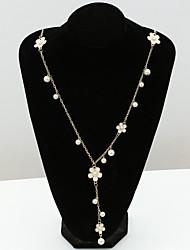 Feminino Colares com Pendentes Cristal Strass imitação de diamante 18K ouro Áustria Cristal Moda Europeu Jóias Para