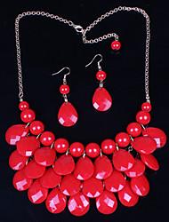 Vintage/Niedlich/Party/Freizeit - Damen - Halskette/Ohrring (Legierung)
