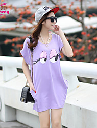 Women's summer style Long coat loose version of leisure