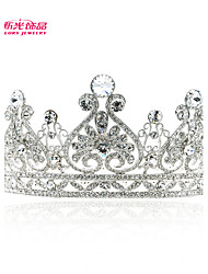 Neoglory Jewelry Austrian Rhinestone Royal Tiara Crown Accessories for Lady/Bridal Pageant/Wedding (More Color)