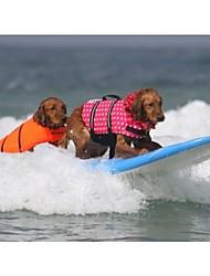 Dog Vest / Life Vest Red / Blue / Pink / Orange Summer / Spring/Fall Bowknot Waterproof