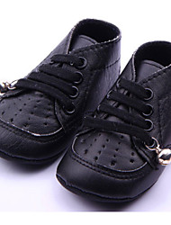 Baby Shoes - Casual - Stivali - Finta pelle - Nero / Bianco