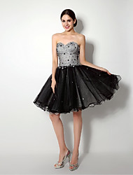Cocktail Party/Formal Evening Dress  Sweetheart Short/Mini/Knee-length Tulle Dress