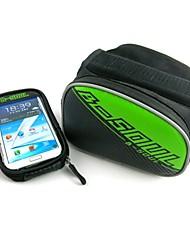 Bike Bag Frame ( Verde/Rojo/Azul/Oro , Cuero PU/Oxford/PVC , 20 L)  Multifuncional Viaje/Ciclismo