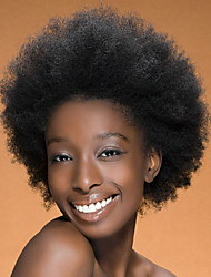 In Stock 10-30inch Afro Straight With Baby Hair Lace Front Wigs 100% Brazilian Virgin Human Hair U Part Wig For Women
