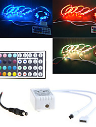 LED light with 44 key RGB DC light bar with a shell