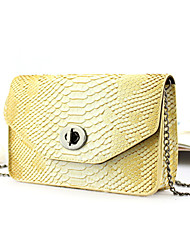 Handcee® Fashion and Popular Crocordile Embossing Women PU Crossbody Bag