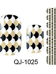 Classical Semicircle Nail Sticker