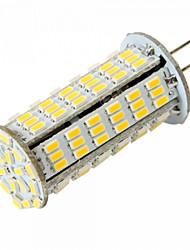 Bombillas LED de Mazorca T G4 10W 126 SMD 3014 1020 LM Blanco Cálido / Blanco Fresco DC 12 / AC 12 / AC 24 / DC 24 V 1 pieza
