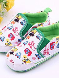 Baby Shoes Casual Fabric Loafers White