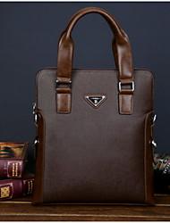outro tipo de couro / lona formais / casual / escritório dos homens&carreira / professioanl usa sacos de ombro / totes - azul /