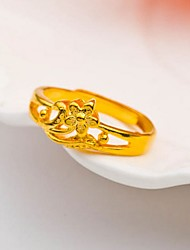 24K gold plated ring