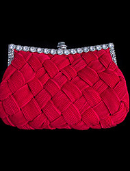 Handbag Knit Evening Handbags With Ruffles