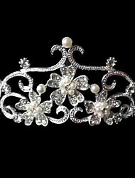 Alloy/Imitation Pearl/Rhinestone Tiaras Wedding/Party/Daily Headpieces/Hairjewelry 1pc