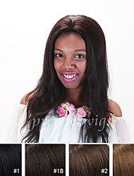 New arrival 12''~18'' natural straight Remy Virgin Indian Human Hair Wigs Silk Top Full Lace front Wigs With Baby Hair
