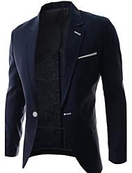 Men's Casual Fashion Work Formal Long Sleeve  Blazer