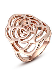 Z&X® Europe Style Hollow Out Flower Statement Rings Wedding/Party/Daily
