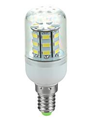 e14 3.5w 400lm 6500k 30-SMD 5730 a mené la lampe de maïs de la lumière blanche froide (220v ~ 240v)