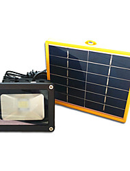 IP65 White Color Light Solar Panel Floodlights LED Solar