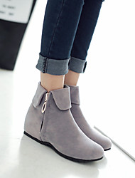 Women's Shoes Wedge Heel Round Toe Booties More Colors available