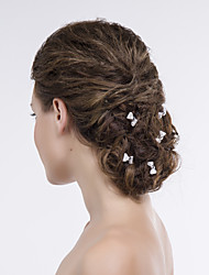 Bowknot Women Alloy/Net Hair Pin With Non Stone Wedding/Party Headpiece