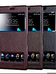 для Sony Xperia Z3 случае высокой Quailty крышка Окно флип пу кожаный телефон сумки