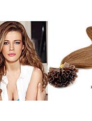 "1pc/lot Brazilian Virgin Human Hair Nail Tip Hair Extensions/Fusion Hair Keratin Extensions Straight 18""-30"" in Stocks"