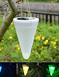 Solar Outdoor Garden Hanging Tree Cornet Cone LED Lights